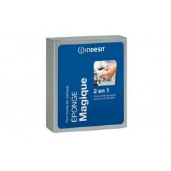 Pack de 2 Éponges magiques 2en1 INDESIT C00091332 Utilisation sans détergent