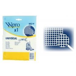 Microfiltre Universel Aspirateur - WPRO MIF2-W