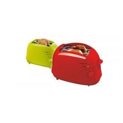 Grille-pain 2 fentes DOMOCLIP DOM325 Vert ou Rouge