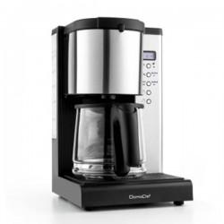 Cafetière filtre Programmable 10/15 tasses DOMOCLIP DOD108 Noir Inox
