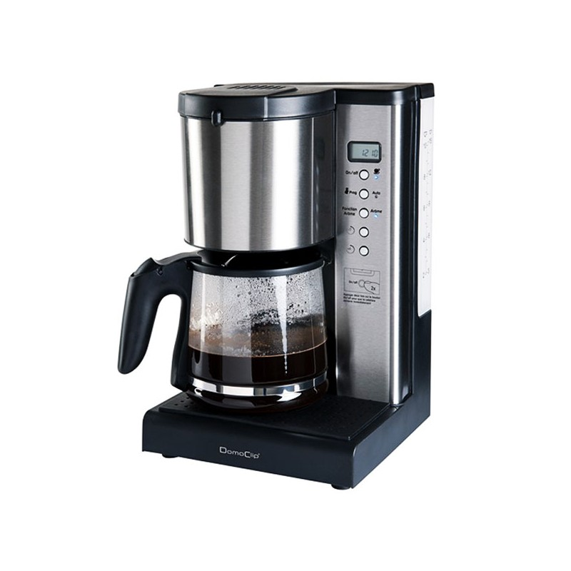 cafeti re filtre programmable 10 15 tasses domoclip dod108. Black Bedroom Furniture Sets. Home Design Ideas