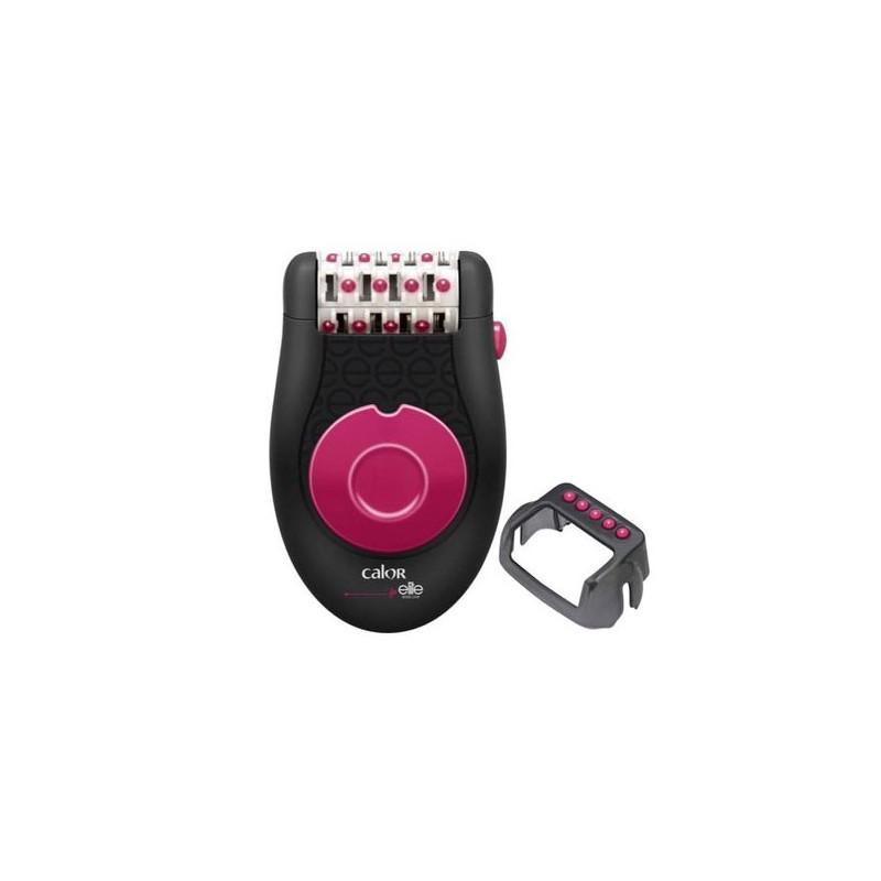 Épilateur 24 Pinces + Accessoire CALOR EP3132 Lovely Noir & Rose