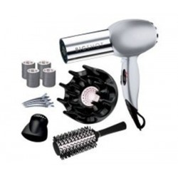 Sèche-cheveux - Ceramic Ionic REMINGTON D2005BS Big Shot Glamour Kit 2000W