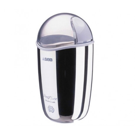 Moulin à café 85 g SEB 810004 Prep'Line 850 Inox 180 W