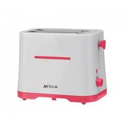 Grille-pain 2 fentes JetTech T2LJ700 Rouge et Blanc