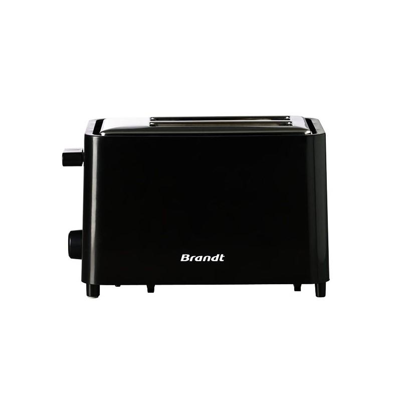 Grille-pain 2 fentes Brandt TO756 Noir ou Rouge