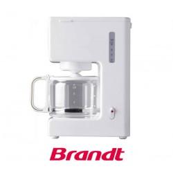 Cafetière filtre 8 tasses BRANDT CAF688 Blanc