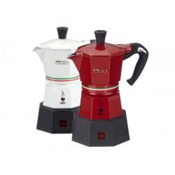 Cafetière à expresso 2 Tasses BIALETTI FIAT500 Blanc ou Rouge