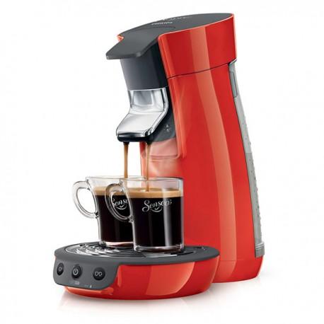 Cafetière à dosettes PHILIPS HD7825/91 Senseo Viva Café | Rouge