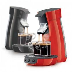 Cafetière à dosettes PHILIPS HD7825/91 ou HD7825/61 Senseo Viva Café | Noir ou Rouge