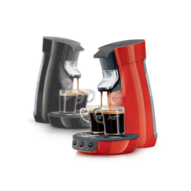 cafeti re dosettes philips hd7825 senseo viva caf noir ou rouge. Black Bedroom Furniture Sets. Home Design Ideas