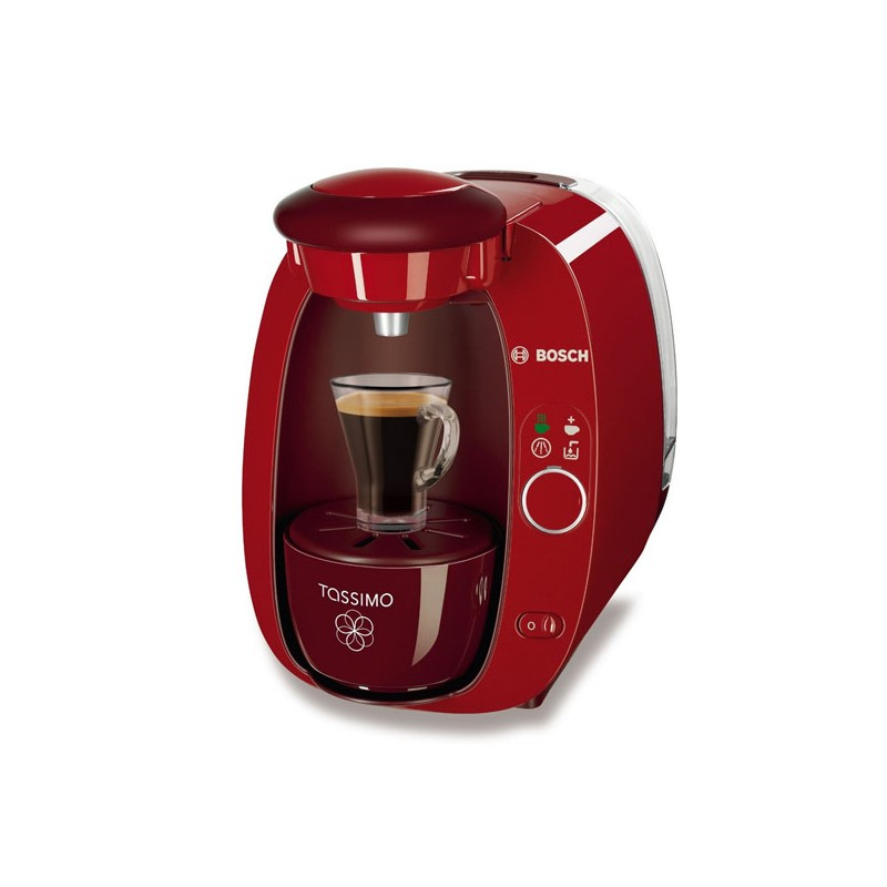 cafeti re capsules bosch t20 tassimo blanc ou rouge. Black Bedroom Furniture Sets. Home Design Ideas