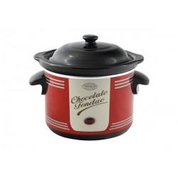 Appareil fondue chocolat SIMÉO FC225 Rouge, Noir