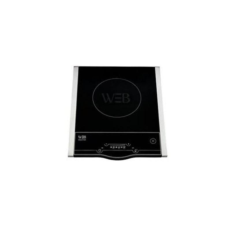 Plaque à induction 1 Foyer WHITE & BROWN PC459 - Noir