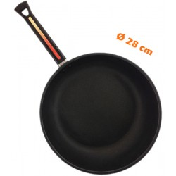 Poêle anti-adhérente Ø 28 cm BLACK PEARL TFS11C Fond lisse