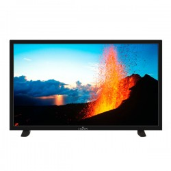 "TV LED 32"" (82 cm) HD READY + Décodeur Satellite CROWN DVBTT2/S2 Noir"