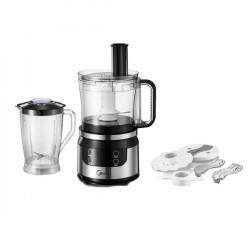 Robot de cuisine 2en1 2 Vitesses MIDEA MJ-FP60E1 Noir, Silver
