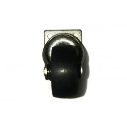 Pied - Roulette pour Congélateurs, Vitrines ROUL-5B Noir