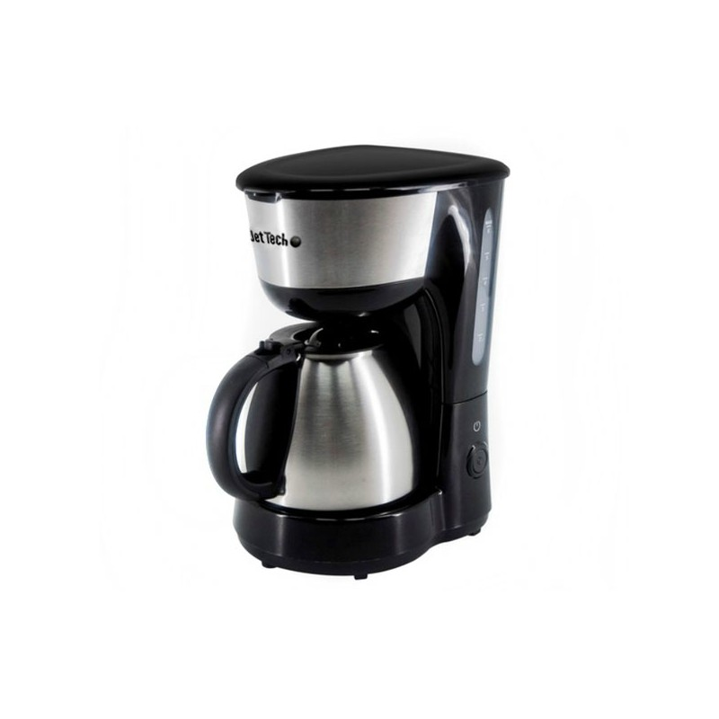 cafeti re filtre 0 75l 6 tasses jettech cmj75ss inox isotherme. Black Bedroom Furniture Sets. Home Design Ideas