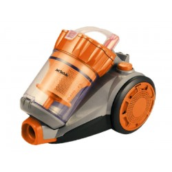 Aspirateur sans sac - Cyclonic 1,5L JETTECH VCJ700A Gris & Orange 700W