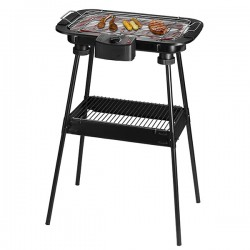 Barbecue 2en1 sur pied / de table TEAM KALORIK TKGGRB1002 Noir 2000W
