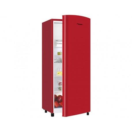 Réfrigérateur 1 Porte 169L A+ FRIDGEMASTER M22RBL Rouge