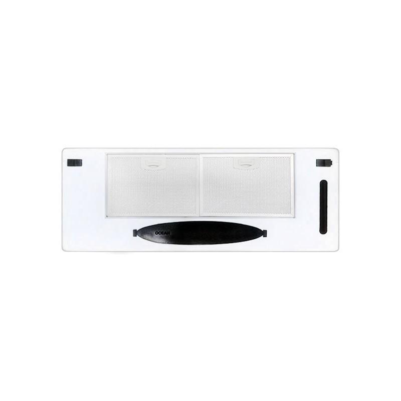 Groupe filtrant Grille 72cm OCEAN CI722I Inox Blanc
