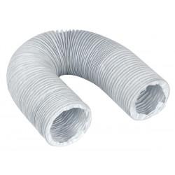 Gaine d'évacuation pour sèche linge (Ø 100 mm x L 3 m) WPRO ASG310 Blanc