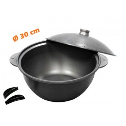 Marmite alu Anodisé Multi-cuissons Ø 30 cm TODAY SP30 Basse