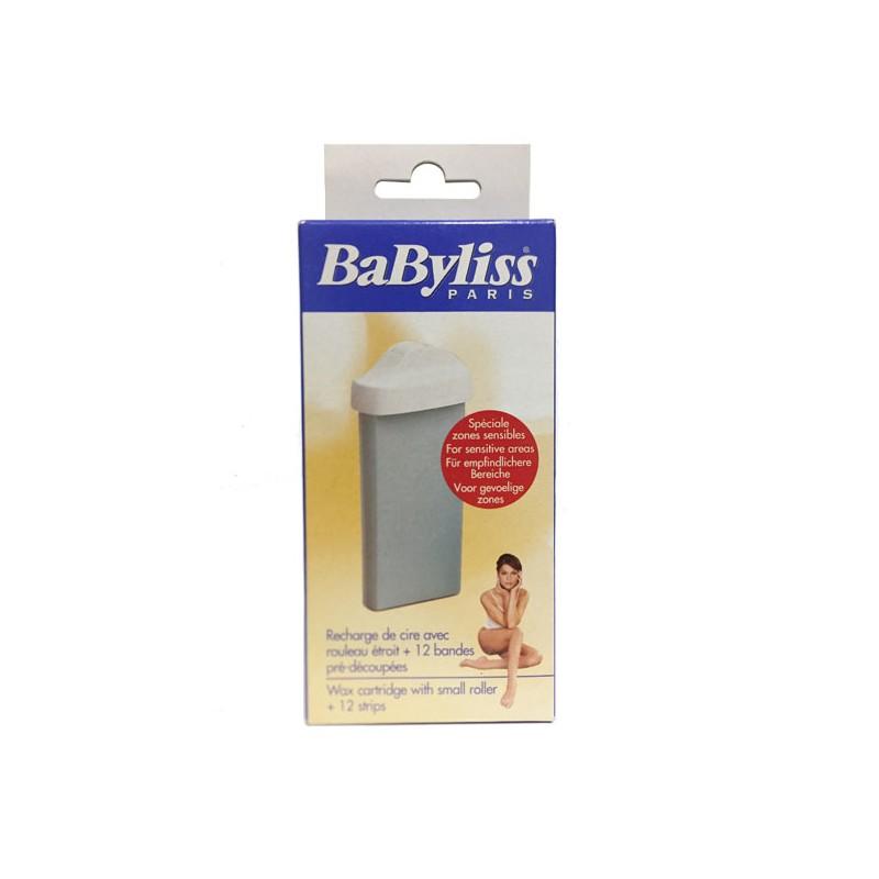 Recharge cire à épiler + 12 Bandes lavables BABYLISS 4801B
