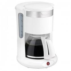 Cafetière filtre 1,25L MOULINEX FG264100 PRINCIPIO PLUS Blanc, Inox