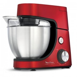 Robot pâtissier 4,6L MOULINEX QA512G10 GOURMET Rouge 1100W