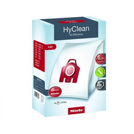 Pack de 4 Sacs microfibres + 2 Filtres MIELE 9917710