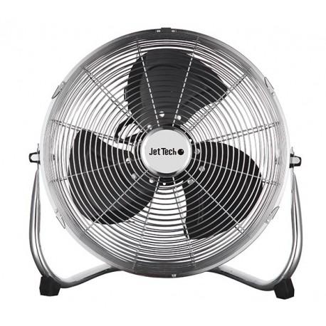 Ventilateur de sol Ø 40 cm | 3 vitesses JETTECH J14HVFF Métal, Noir