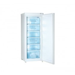 Congélateur armoire 6 Tiroirs 163L CURTISS OCA5206PL Blanc A+