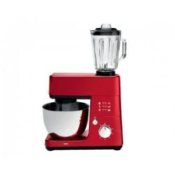 Robot pâtissier multifonctions 4,3 L BRANDT KM845BR Rouge 1000W