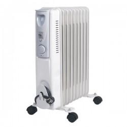 Radiateur bain d'huile 9 éléments - EMERIO HO108021 2000 W Blanc