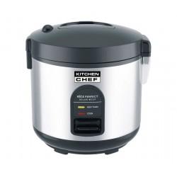 Cuiseur à riz 1,8 L + Panier vapeur KITCHEN CHEF DRC10 Clipper Inox 700 W