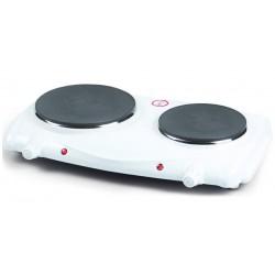Plaque de cuisson 2 Foyers électr. EMERIO HP-104529 Blanc 2500 W