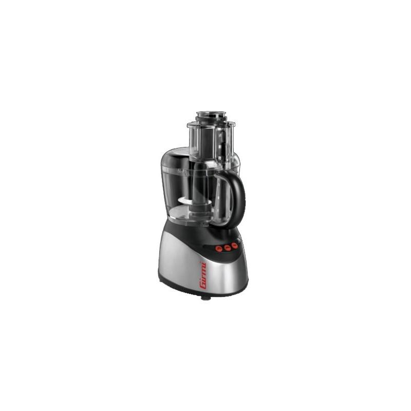 Robot multifonctions GIRMI KM20 Inox, Noir