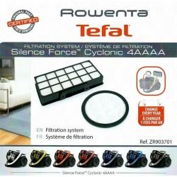 Kit de filtration ROWENTA TEFAL Silence Force, Cyclonic 4AAAA ZR903701