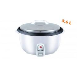 Cuiseur à riz 3,6 L Semi-Pro SARAMAÏ SMRC3600 Blanc