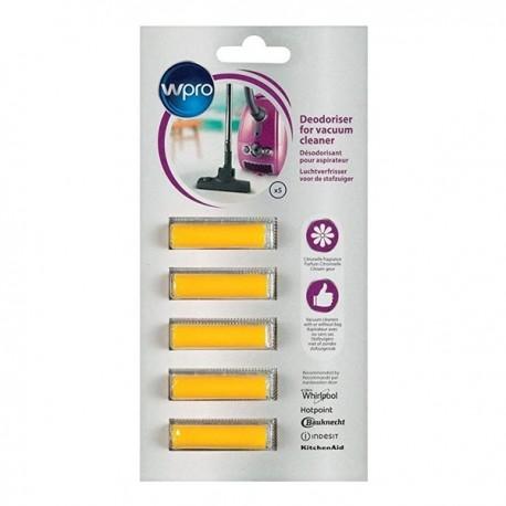 Pack de 5 Désodorisants pour aspirateur WPRO ACT001 Citronnelle