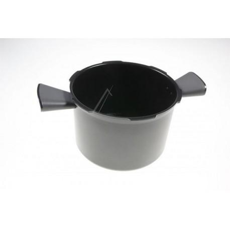 Cuve + 2 Poignées H165mm Ø240mm (MULTICUISEUR COOKEO CE70) MOULINEX H984089 - Gris