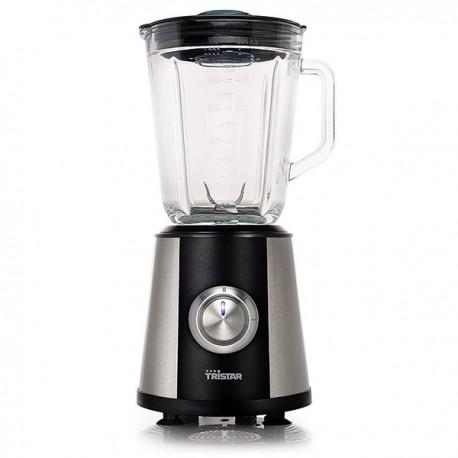 Blender / Mixeur verre 1L TRISTAR BL-4441 Inox, Noir 350W