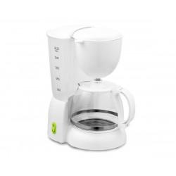 Cafetière filtre 1,25 L 10 Tasses SARAMAÏ SMCM4277 Blanc