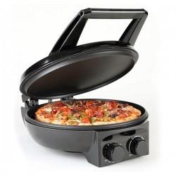 Appareil à pizza Ø 32 cm / Toaster COOKSCLUB KS-307 Silver 1500W