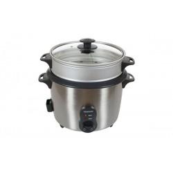 Cuiseur à riz 1,8 L + Panier vapeur KENWOOD RC417 Inox Satiné