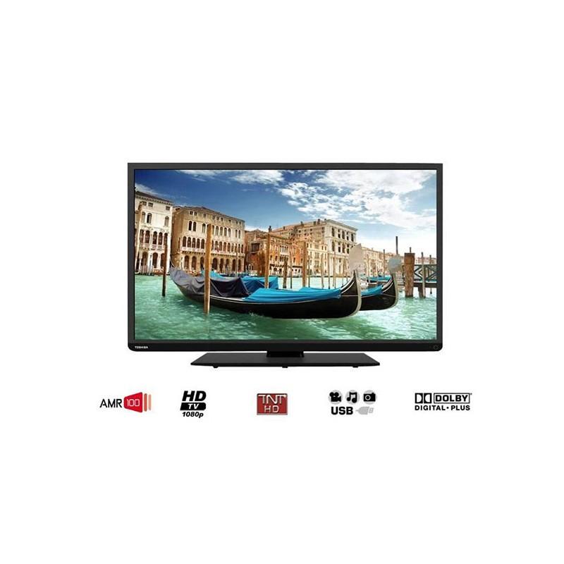 tv led 40 102 cm toshiba 40l1333dg noir. Black Bedroom Furniture Sets. Home Design Ideas