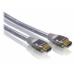 Câble HDMI 1,5 m PHILIPS SWV3432W/10 Connecteurs plaqués Or